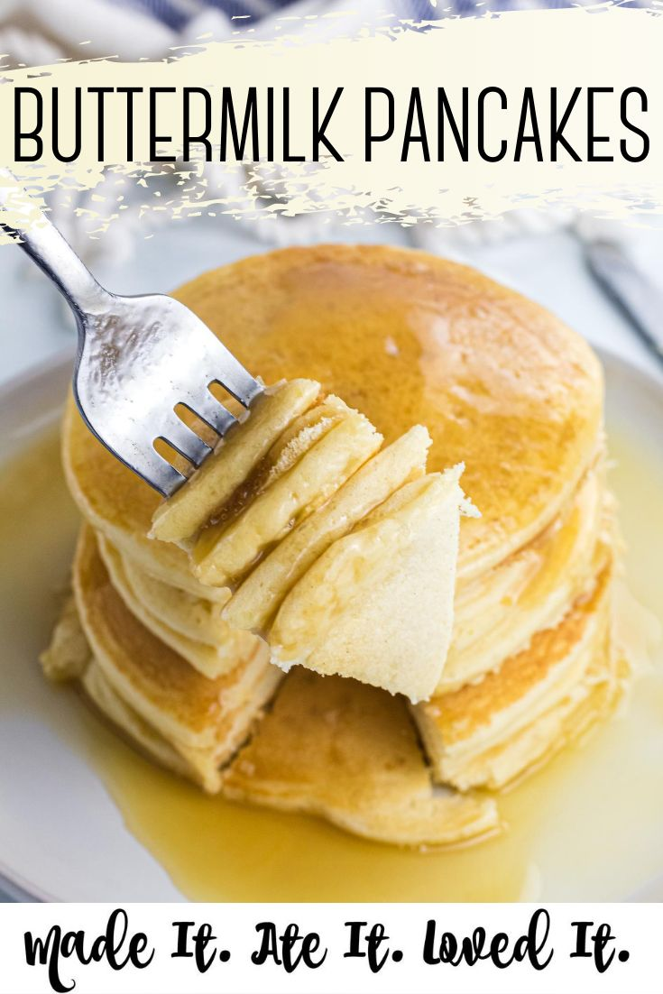 The Best Buttermilk Pancakes In 2020 Recipes Favorite Breakfast Recipes Buttermilk Pancakes
