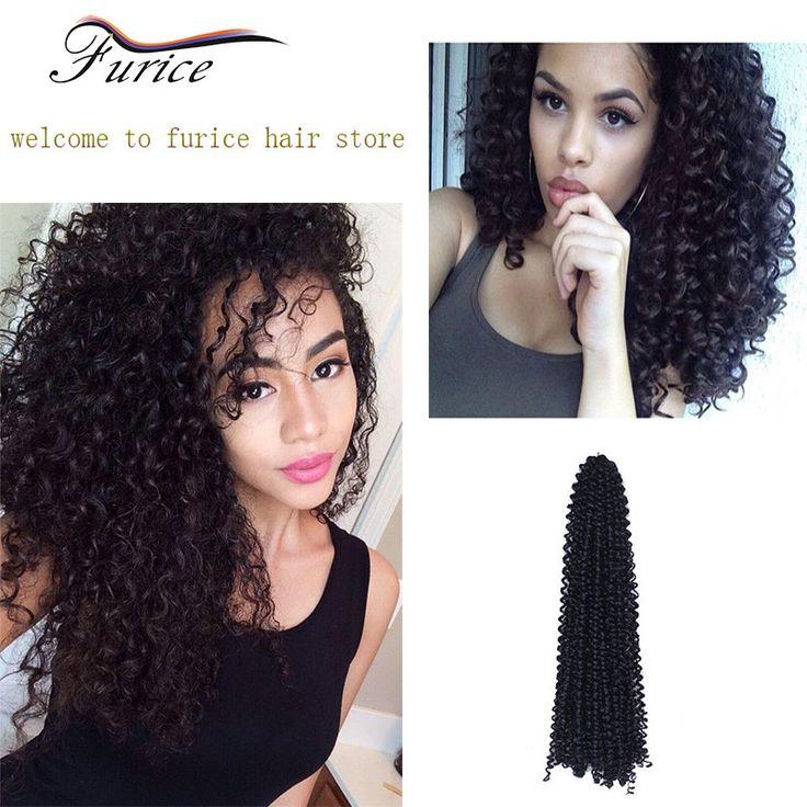 Cheap 18 Inch Crochet Weave Hair Water Wave Ocean Curly Hairpiece Bundles Freetress Crochet Hair Natural Hair Extension Supplier