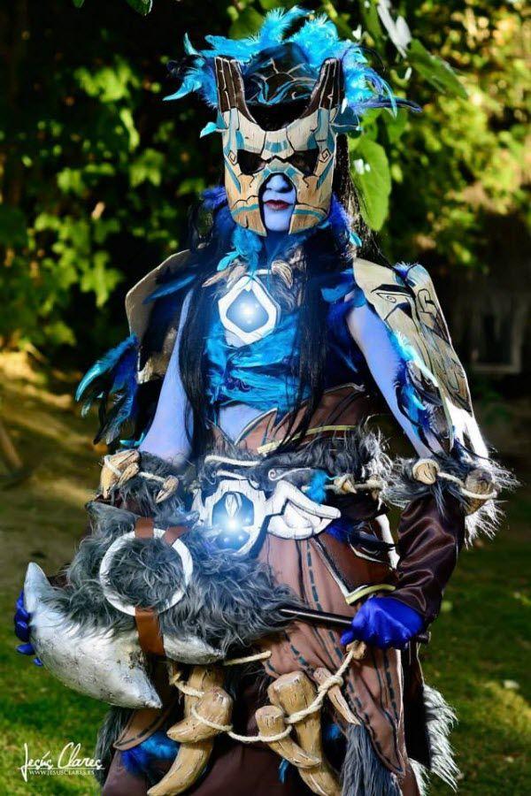 Draenei Shaman Tier 14 (World of Warcraft) : Nika Cosplay (https://www.facebook.com/NikaCosplay)