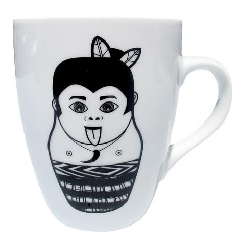 Maori Boy Coffee Mug