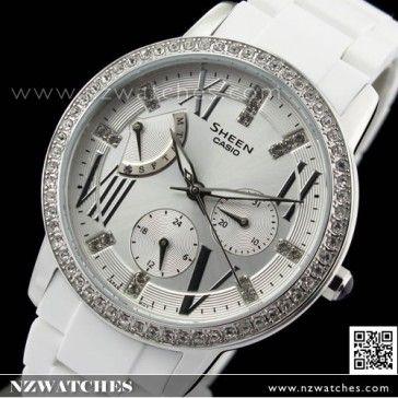 BUY Casio Sheen SWAROVSKI ELEMENTS Ladies Watch SHE-3025-7A, SHE3025 - Buy Watches Online | CASIO NZ Watches