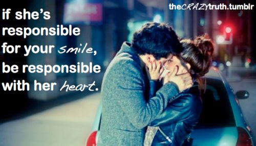 be responsible with my heart