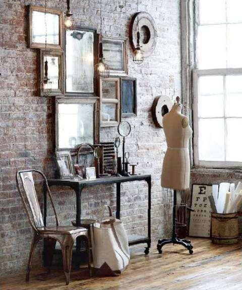 Tendenze arredamento soggiorno 2016 - Idee per arredi in stile vintage