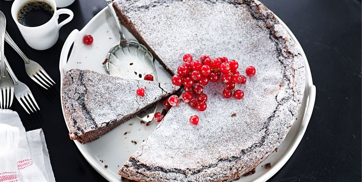 Mudcake (glutenfri) - Opskrifter - Amo