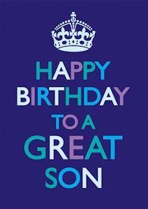 happy bday son quotes - Google Search
