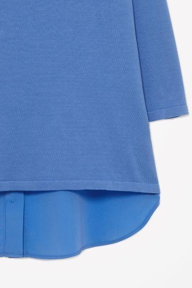 Silk back jumper