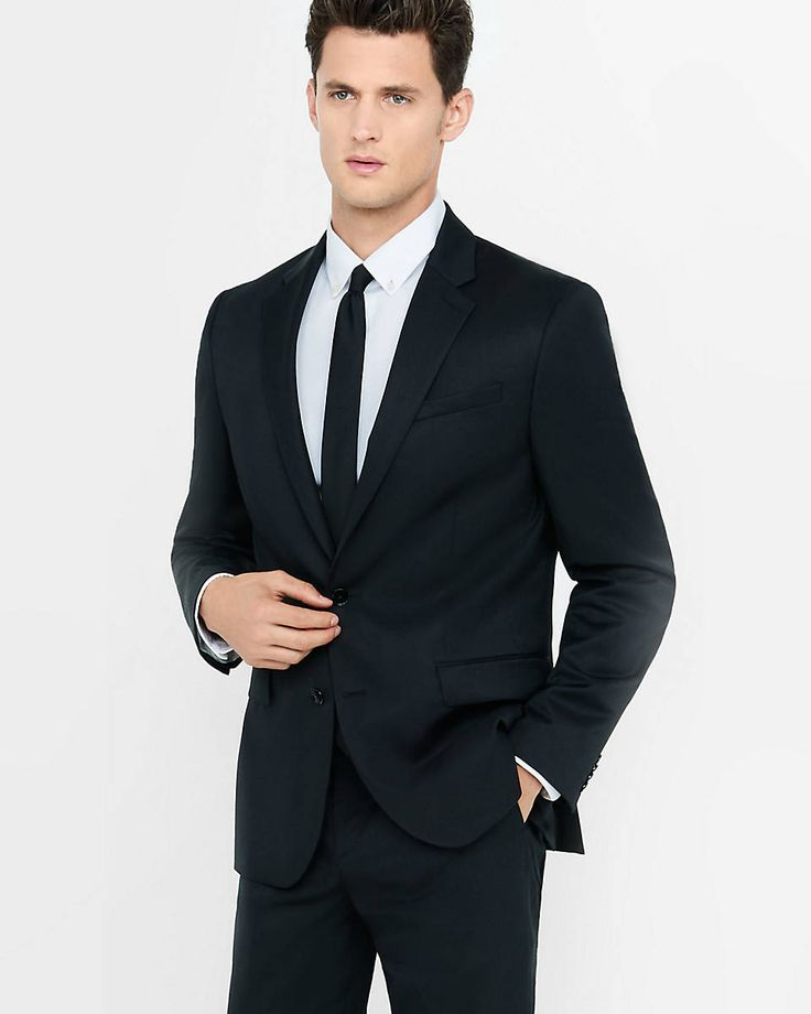 Black Suit With Red Tie - Go Suits