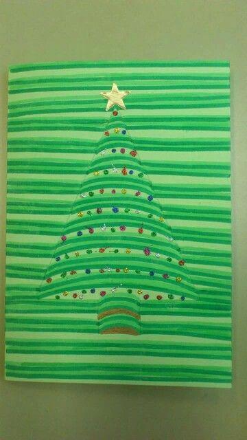 Kerstboom in 3 d tekenen