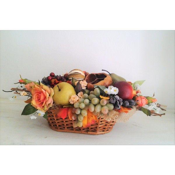 jesenná úroda v košíku 50 cm