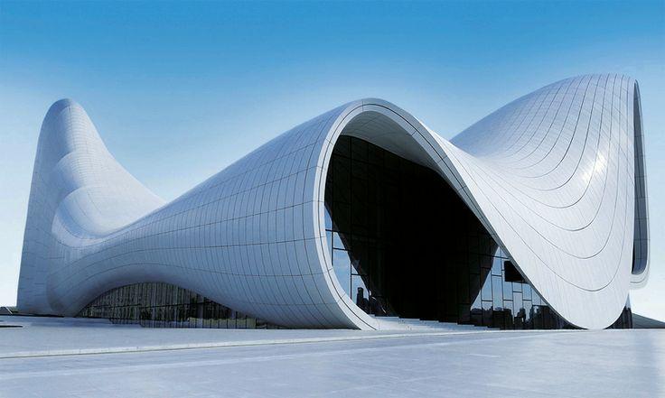 Heydar Aliyev Cultural Center, Azerbaijan.