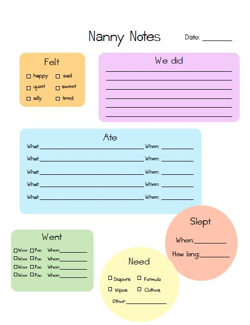 8 best Nanny images on Pinterest Nanny binder, Babysitter - nanny agreement contract