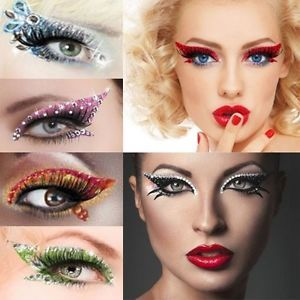 costume eye makeup | Nutcracker Ballet Costume Makeup Reusable Dramatic Eye Sugar Plum ...