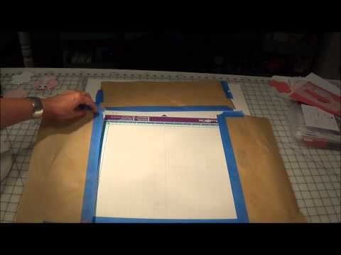Put the Sticky Back in Your Mat! ScanNCut/Silhouette Cameo/Cricut the Easy Tack Way - YouTube