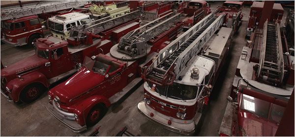 Recipe for a Museum: 200 Fire Trucks and a Dream | Guns & Hoses | Pinterest | Fire trucks and ...