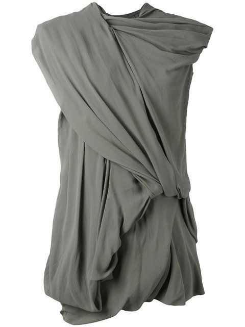 RICK OWENS Drape Dress. #rickowens #cloth #dress