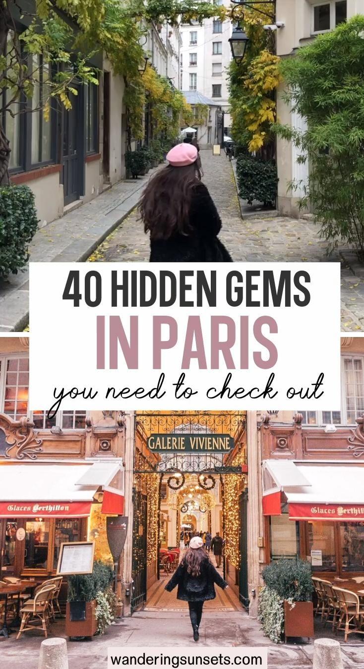 Paris Hidden Gems 20 Secret Spots You Need to See [Video] [Video] in 20    Paris, Paris destination, Paris travel photography