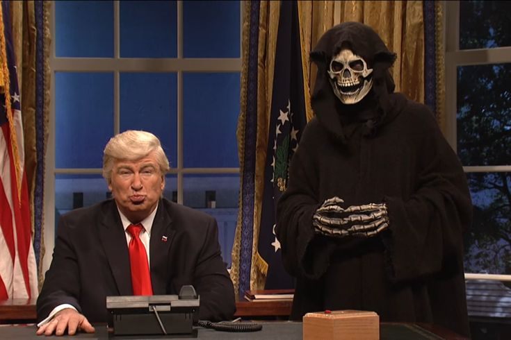 "Saturday Night Live opened with the return of Alec Baldwin as President Trump and a Skeletor lookalike as his chief strategist, Stephen Bannon. The skit begins with Trump learning his daughter and son-in-law, Ivanka Trump and Jared Kushner — who are believed to be a moderating force in the White House — are observing Shabbat and therefore unable to moderate. ""When the Jews are away, the goys will play,"" Trump declares before summoning Bannon to his side. The game of the evening turns out to…"