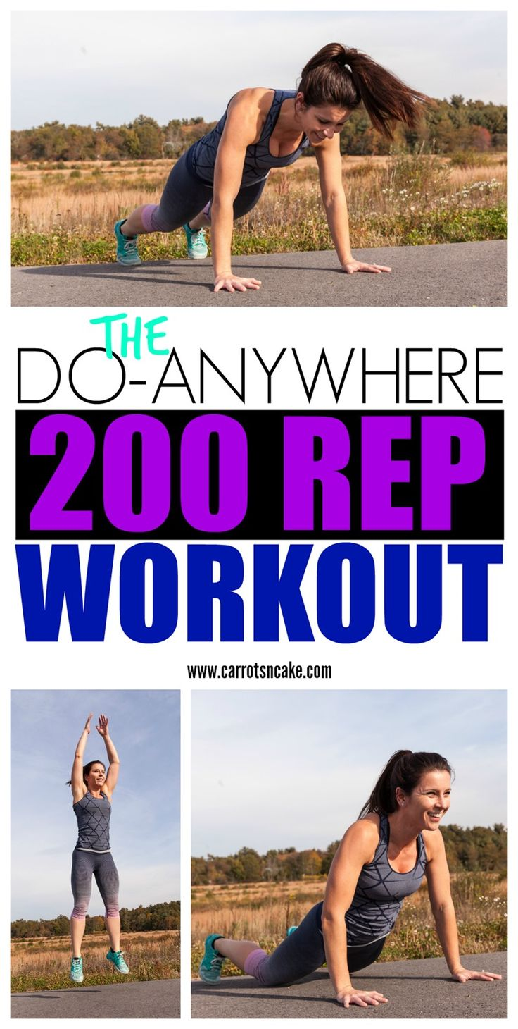 DO-ANYWHERE 200 REP WORKOUT