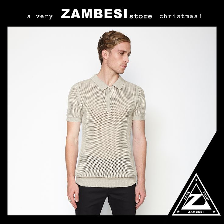 """""""my pick would be the zambesi knitted polo - one in every colour for this styley guy! ho ho ho merry polo xmas!"""" - baden, ZAMBESI melbourne. the #zambesi knitted polo is available in all of our stores, including online with free shipping: http://www.zambesistore.com/ProductDetail.aspx?CategoryId=92&ProductId=52498&Colour=CHARCOAL x"""