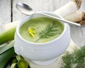 Soupe de poireaux zéro graisse : http://www.fourchette-et-bikini.fr/recettes/recettes-minceur/soupe-de-poireaux-zero-graisse.html