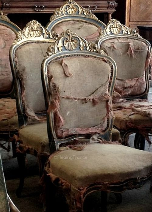 Tattered and lovely - Fleaing France Brocante Society
