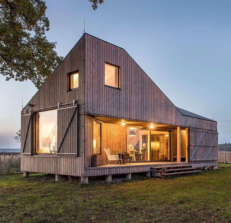 Energy Efficient House, Czech Republic. Design