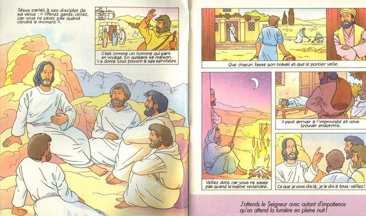 BD : Jésus nous demande de veiller (Avent) - KT42