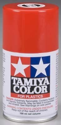 85008 Spray Lacquer TS8 Italian Red 3 oz by Tamiya. $6.31. This is a 100ml Spray Can of Italian Red Synthetic Lacquer Paint from Tamiya.This is a 100ml Spray Can of Synthetic Lacquer Paint from Tamiya. FEATURES: Cures in a short period of time. Extremely useful for painting large surfaces. 100ml is enough to fully cover two or three 1/24 scale sized car bodies. Tamiya spray paintsare not affected by acrylic or enamel paints. Therefore following the painting of...