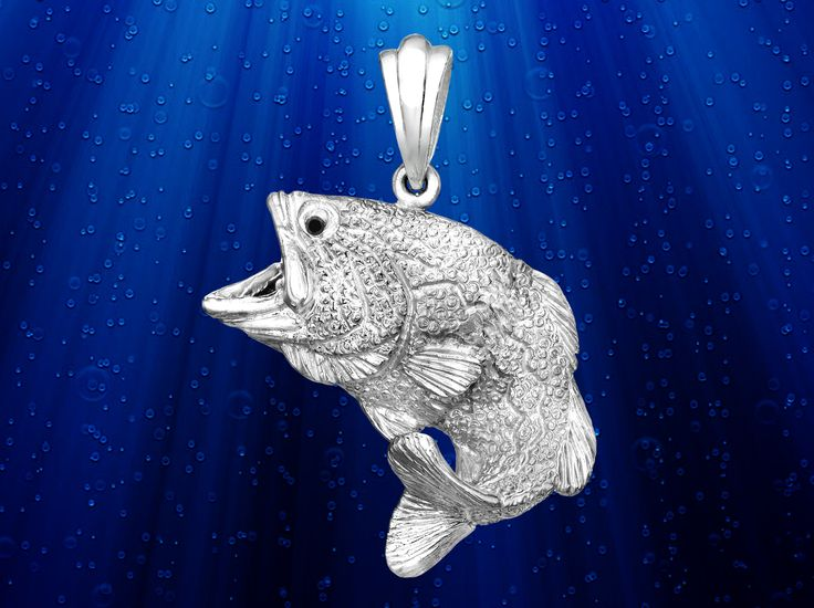 65 best images about skeleton fish jewelry on pinterest for Silver bass fish