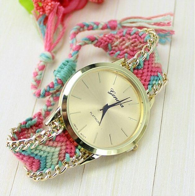 Bracelet bresilien montre tendance