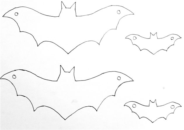 Best  Bat Cut Out Ideas On   Bat Stencil Bat