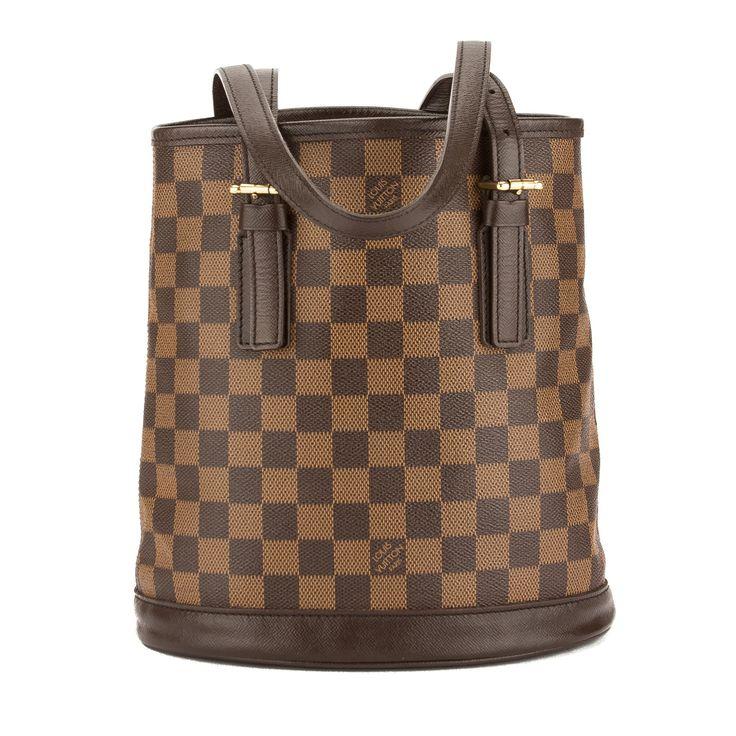 Louis Vuitton Damier Ebene Canvas Marais Bucket Bag (Pre Owned) - 3597001           | LuxeDH