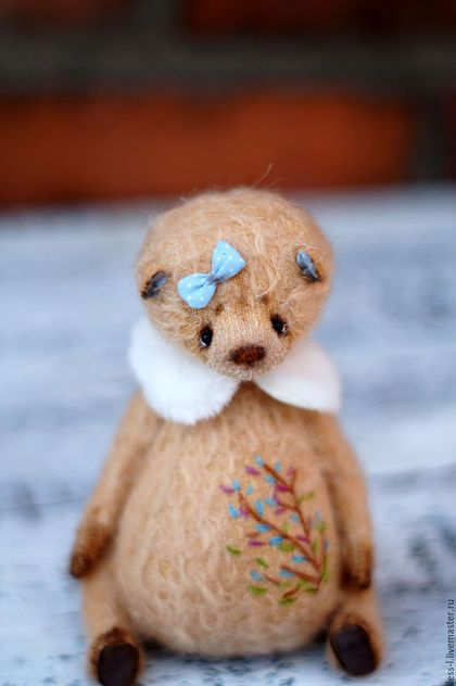 Teddy bear / Мишки Тедди ручной работы. Маруся. Мила Карамышева. Интернет-магазин Ярмарка Мастеров. Тедди, мохер, мех