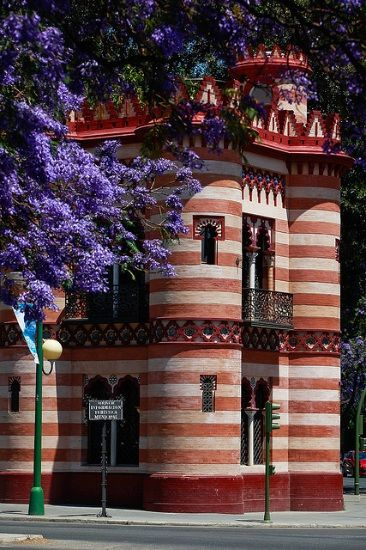 Costurero de la Reina, Seville, Spain [(literally, the Queen's sewing box) is a building constructed in the late nineteenth century in the gardens of the Palace of San Telmo]
