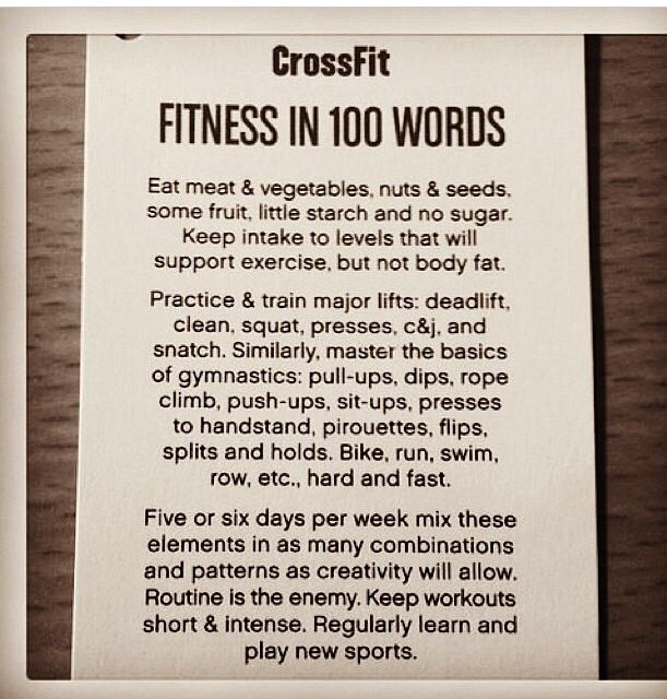 Workout Words: 1000+ Images About CrossFit Posters On Pinterest