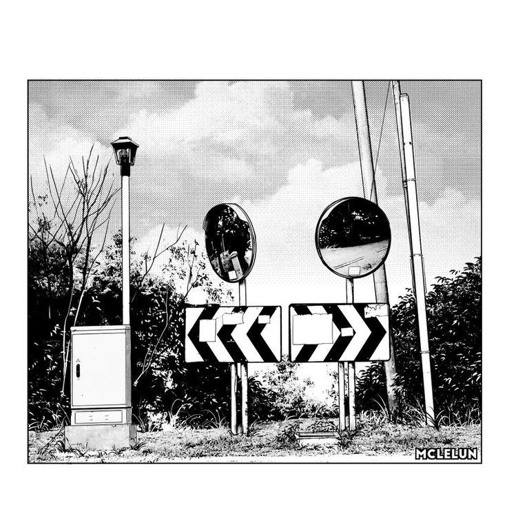 traffic mirror by mclelun.deviantart.com on @DeviantArt