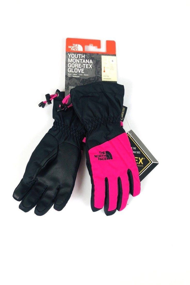 2669f694f 40.45 | New THE NORTH FACE Youth Montana Gore-Tex Ski Gloves - Youth ...