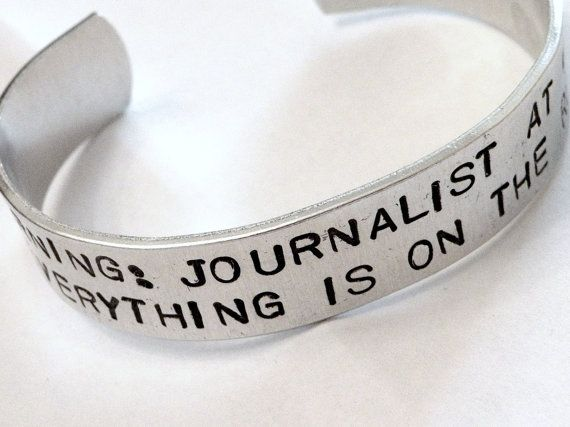 Wedding Gifts For Journalists : warning journalist journalist record stuff journalists like gifts for ...