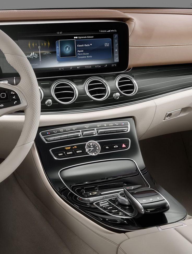 2017 Mercedes-Benz E-Class: First Official Look At Interior [23 Pics & Video]