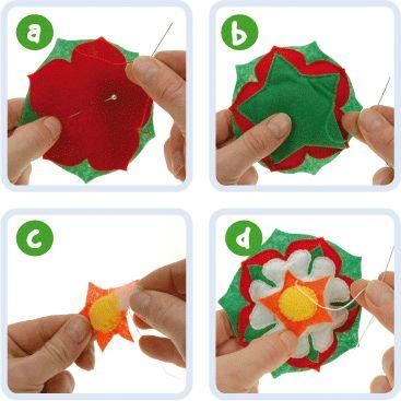 Tudor Rose Brooch   Craft Ideas at Patticrafts