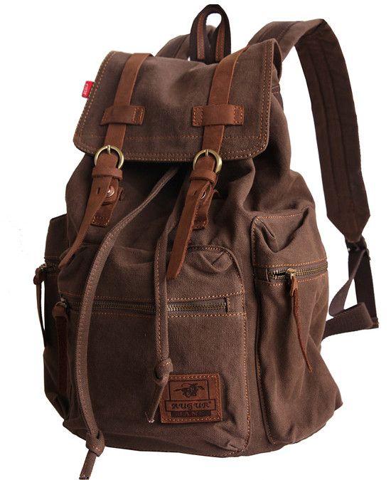Canvas backpack at Serbags! #backpack #serbags #rucksack