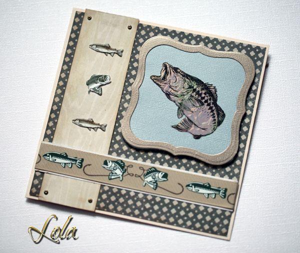 Изображением, открытки скрапбукинг с рыбалкой