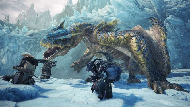 An Absolute Beast Of An Interview About Monster Hunter World Iceborne Monster Hunter Monster Hunter World Hunter King