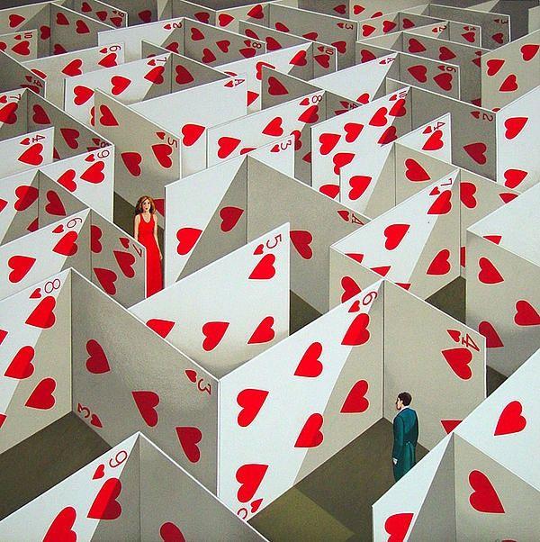 Рафал Олбински (Rafal Olbinski) - очень известный польский художник-сюрреалист. Живёт и работает в США.