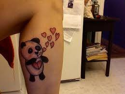 Panda Bear Tattoos And Meanings-Panda Bear Tattoo Designs And Ideas-Panda Tattoo Images
