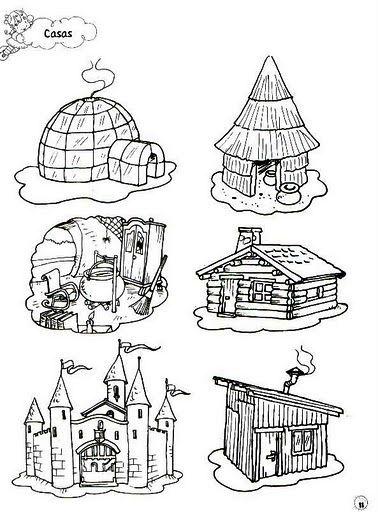 diferentes tipos de casa - Buscar con Google | děti | Pinterest ...