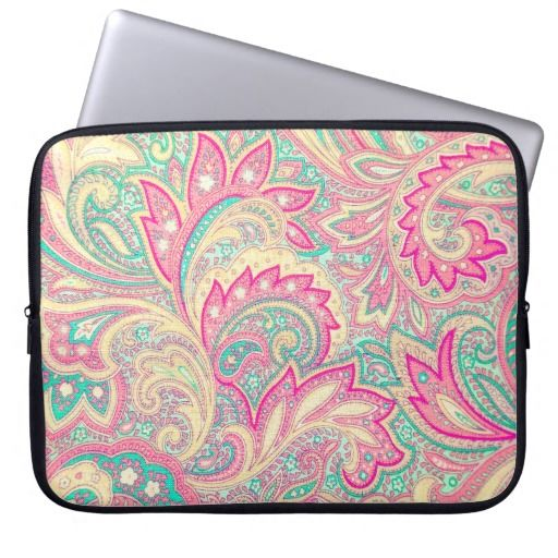 #Pink #Turquoise #Girly #Chic #Floral #Paisley #Pattern #electronics  @girly_road