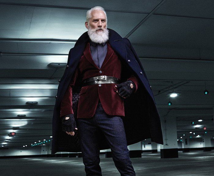 The fashion santa #PaulMason