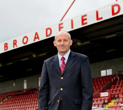 Steve Coppell - arrives at Crawley Town FC