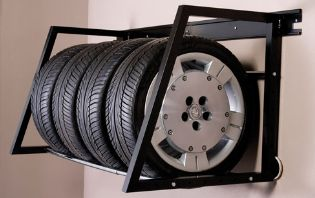 Car Lifts Plus Tire Storage Racks